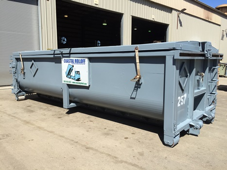 commercial rolloff container